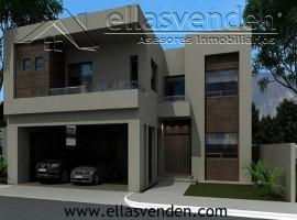 Casas en Venta, Porton de Valle Alto en Monterrey PRO3274