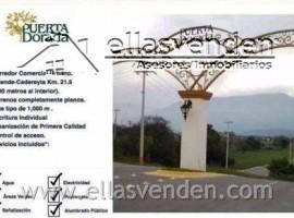 Terrenos en Venta, Puerta Dorada en Cadereyta Jimenez PRO3862