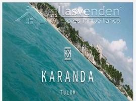 PRO5175 Departamentos en Venta, Karandra Tulum en Tulum
